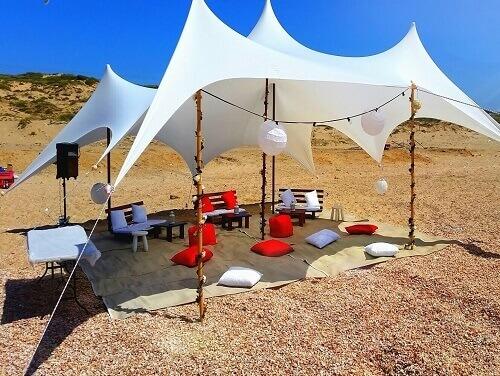 אוהלים למסיבת רווקים - אוהלי נועם